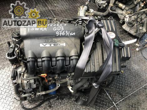 ДВС+АКПП HONDA GD3 1.5 L15A CVT SWRA